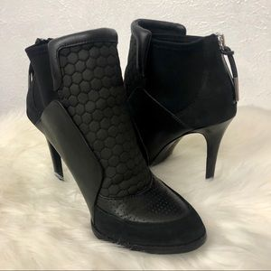 L.A.M.B. Black Booties - Size 8.5